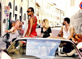 On the set of Turn up the Radio - Madonna - Official (2)