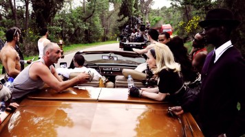 On the set of Turn up the Radio - Madonna - Official (3)
