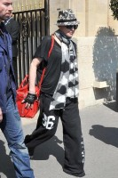 Madonna leaving the Crillon Hotel on her way to the Olympia, Paris (5)