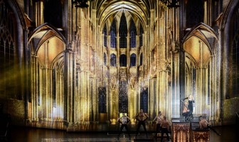 Unique look at the MDNA Tour stage by Moment Factory (1)
