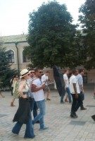 Madonna out and about in Kiev - 3 August 2012 (1)