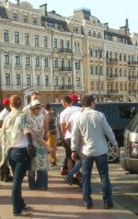 Madonna out and about in Kiev - 3 August 2012 (2)