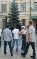 Madonna out and about in Kiev - 3 August 2012 (4)