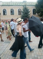 Madonna out and about in Kiev - 3 August 2012 (6)