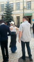 Madonna out and about in Kiev - 3 August 2012 (7)