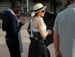 Madonna out and about in Kiev - 3 August 2012 (15)