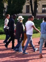 Madonna out and about in Kiev - 3 August 2012 (21)