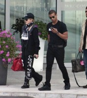 Madonna out and about in Warsaw - 1 August 2012 (1)