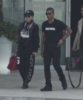 Madonna out and about in Warsaw - 1 August 2012 (2)