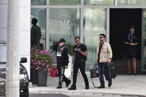 Madonna out and about in Warsaw - 1 August 2012 (3)