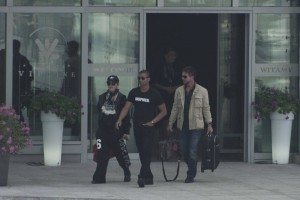 Madonna out and about in Warsaw - 1 August 2012 (5)