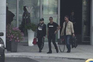 Madonna out and about in Warsaw - 1 August 2012 (6)