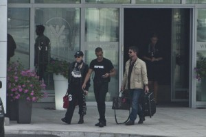 Madonna out and about in Warsaw - 1 August 2012 (7)