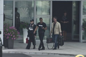 Madonna out and about in Warsaw - 1 August 2012 (8)