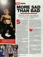 South African magazine YOU featuring Madonna - August 2012 (2)