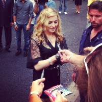 Madonna at the Hard Candy Fitness Opening in Moscow - 6 August 2012 (2)