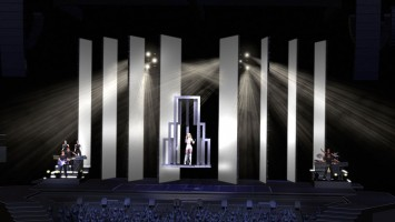 MDNA Tour Stage - Sketches and renderings (1)