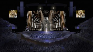 MDNA Tour Stage - Sketches and renderings (2)