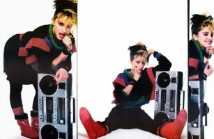 Madonna by Richard Corman for Fancy, 1983 - Spread (2)