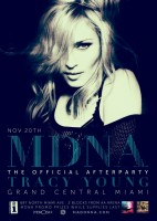 MDNA Tour After Party in Miamia - Tracy Young