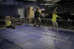 MDNA Tour Behind the Scenes - Slackline with Hayden Nickell, Jaan Roose, Carlos Neto (6)
