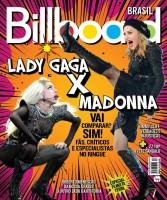 Madonna and Lady Gaga on Billboard Brasil cover