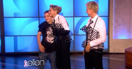 Madonna and Ellen DeGeneres - Breast awareness month HQ (2)