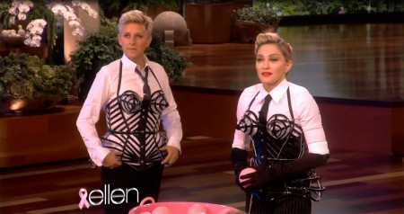 Madonna and Ellen DeGeneres - Breast awareness month HQ (4)