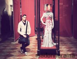 Madonna Vionnet Dress Venice -  Palazzo Mocenigo Museum  (7)