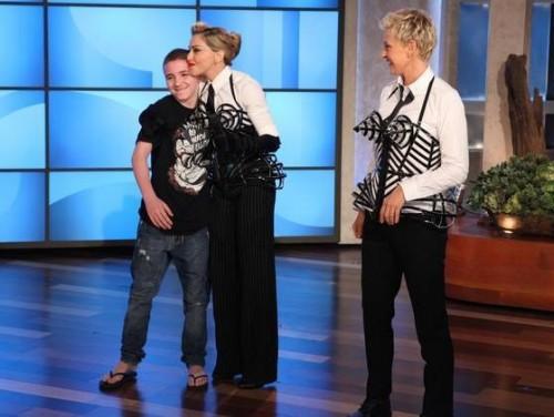 Madonna on Ellen DeGeneres - Promo pictures (3)