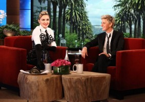29 October 2012 - Madonna on The Ellen DeGeneres Show (3)