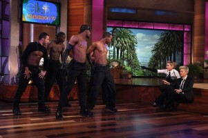 29 October 2012 - Madonna on The Ellen DeGeneres Show (4)