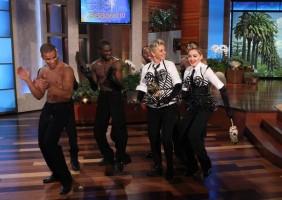 29 October 2012 - Madonna on The Ellen DeGeneres Show (5)