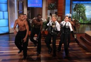 29 October 2012 - Madonna on The Ellen DeGeneres Show (6)