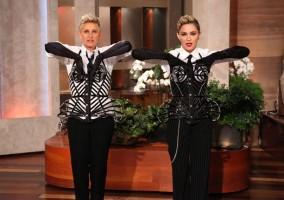 29 October 2012 - Madonna on The Ellen DeGeneres Show (9)
