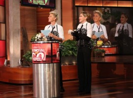 29 October 2012 - Madonna on The Ellen DeGeneres Show (12)