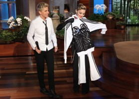 29 October 2012 - Madonna on The Ellen DeGeneres Show (16)