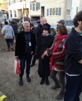 Madonna Visiting Sandy-Damaged Rockaways (2)