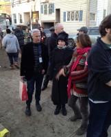 Madonna Visiting Sandy-Damaged Rockaways (2)
