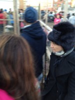 Madonna Visiting Sandy-Damaged Rockaways (3)