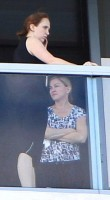 Madonna out and about in Miami Beach (2)