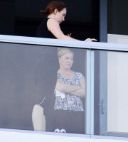 Madonna out and about in Miami Beach (4)