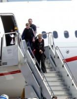 Madonna arriving at the Galeao Airport, Rio de Janeiro (1)