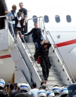 Madonna arriving at the Galeao Airport, Rio de Janeiro (2)