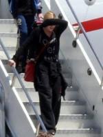 Madonna arriving at the Galeao Airport, Rio de Janeiro (4)