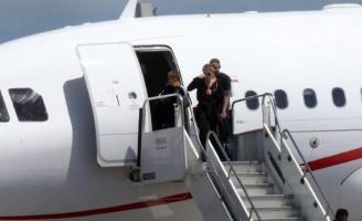 Madonna arriving at the Galeao Airport, Rio de Janeiro (5)