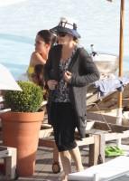 1 December 2012 - Madonna At the Ipanema beach, Rio de Janeiro (5)