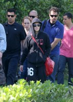 2 December 2012 - Madonna Leaving for the Parque Olimpico Cidade do Rock by Helicopter, Lagao (2)
