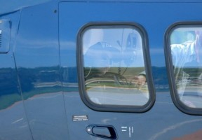 2 December 2012 - Madonna Leaving for the Parque Olimpico Cidade do Rock by Helicopter, Lagao (3)