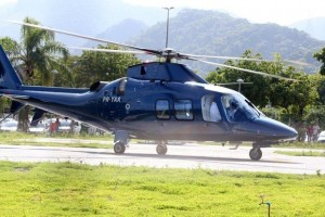 2 December 2012 - Madonna Leaving for the Parque Olimpico Cidade do Rock by Helicopter, Lagao (5)
